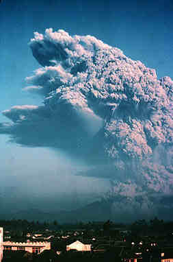 Volcanic eruption in Java photo